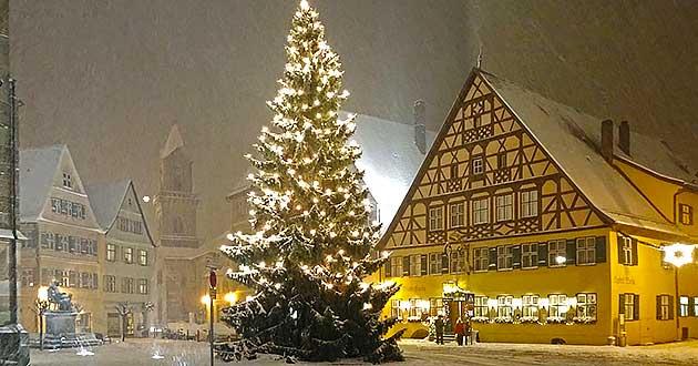 Weihnachtsarrangement 2018 2019 Hotel Dinkelsbuhl Bayern Franken